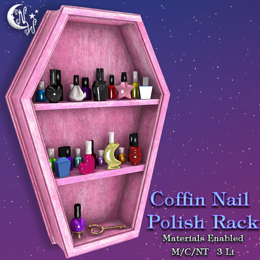 *NW* Coffin shelf – Pink