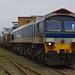 59101 with 6V52 arrives at Hamworthy Goods