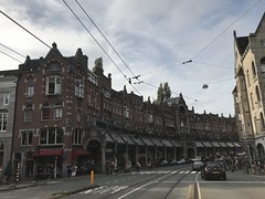 Raadhuisstraat - Central Amsterdam - Holland - October 2018