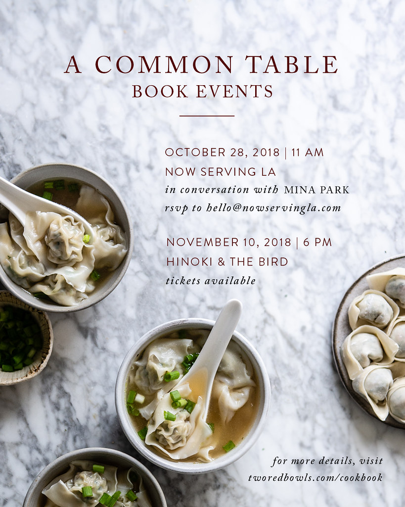 a common table book events!