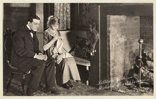 Lillian Gish and Richard Barthelmess in Way Down East (1920)