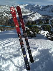 Telemarkový set 184 cm nové normy NTN - titulní fotka