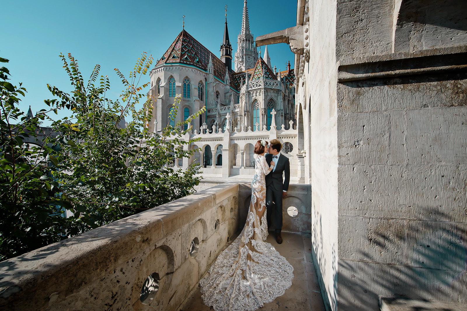 《海外婚紗》布拉格、布達佩斯