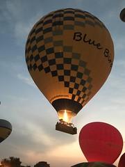 Blue Bird Balloon, Hot Air Balloon Flight, West Bank, Luxor, Egito