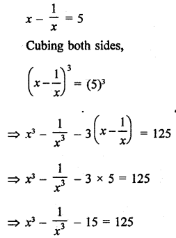 RD Sharma Class 9 Questions Chapter 4 Algebraic Identities