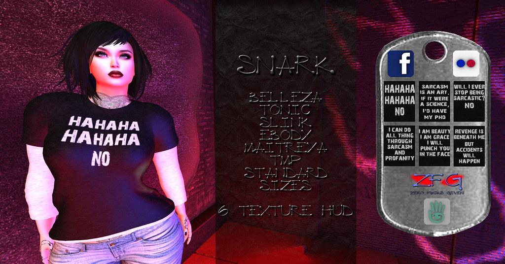 {zfg} snark - TeleportHub.com Live!