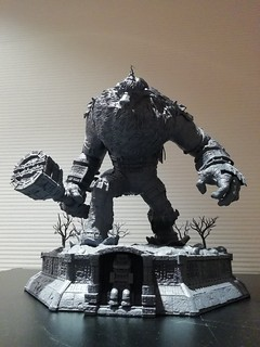 Prime 1 Studio - 《汪達與巨像》Ultimate Diorama Masterline 第一巨像(ワンダと巨像  第一の巨像)雕像原型公開!