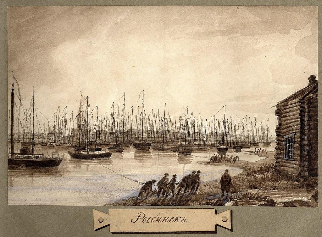 Вид Рыбинска