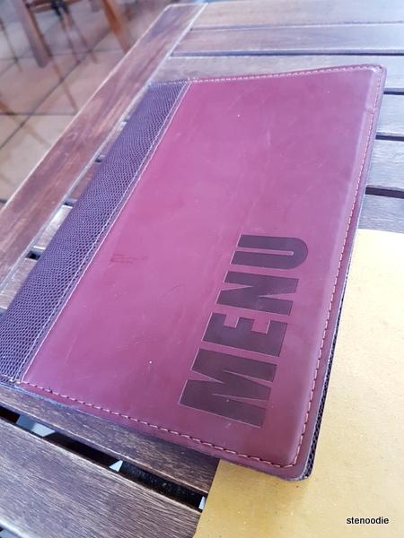 RossoVino da Maurizio menu cover