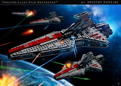 Venator-class Star Destroyer - Building Instructions