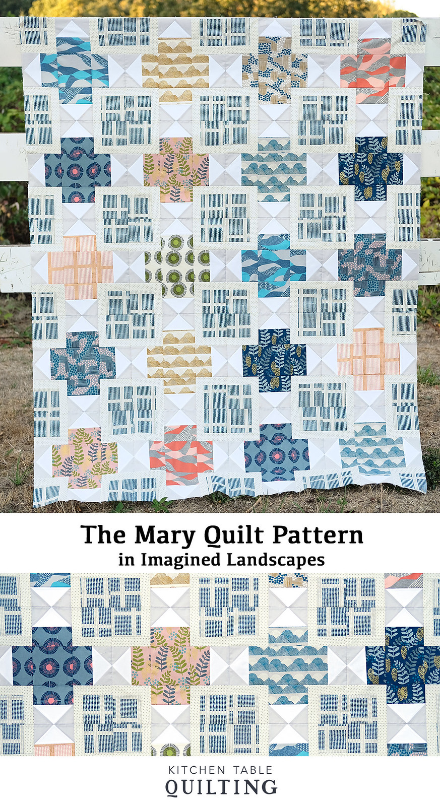 The Mary Quilt in Imagined Landscapes - Kitchen Table Quilting