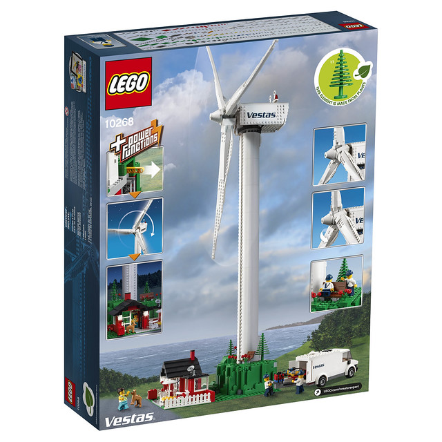 LEGO Creator 10268 Vestas Wind Turbine 2