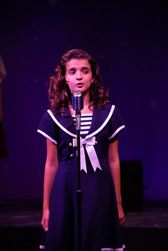 Carly Koch in Beyond the Rainbow: The Judy Garland Musical at Farmer's Alley Theatre. Photo courtesy and copyright Becky Klose