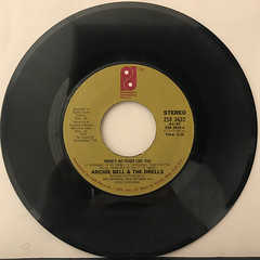 ARCHIE BELL & THE DRELLS:GLAD YOU COULD MAKE IT(RECORD SIDE-B)
