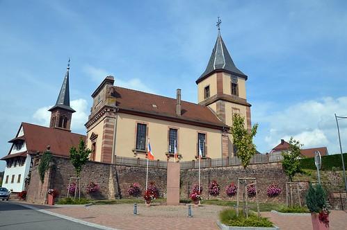 Die beiden Kirchen von Climbach
