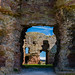 Rhuddlan Castle doorways