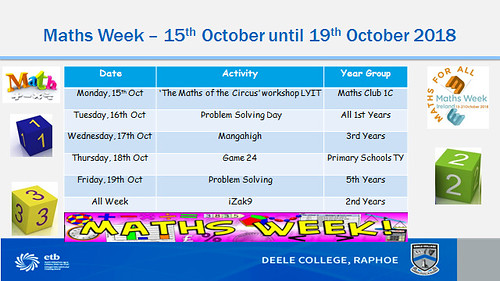 Maths Week