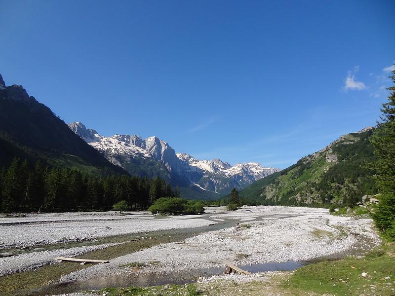 Valbonë river, Kujaj valley walk, Valbonë