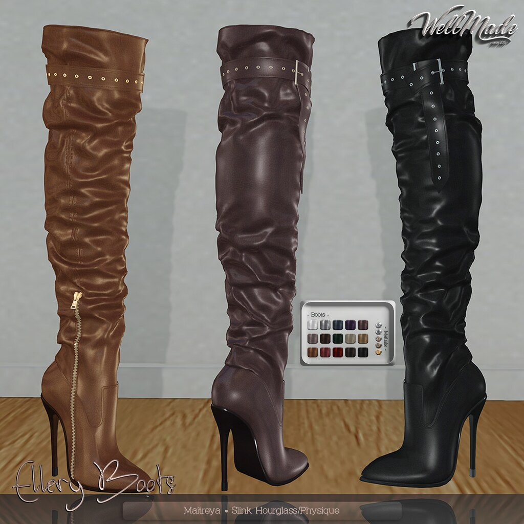 [WellMade] Ellery Boots - TeleportHub.com Live!