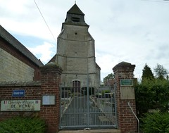 Henu, église Saint-Nicolas  (3) - Photo of Bailleulval