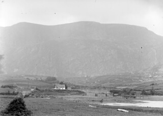 """The house at the bridge below the mountain"" is Adrigole, West Cork"