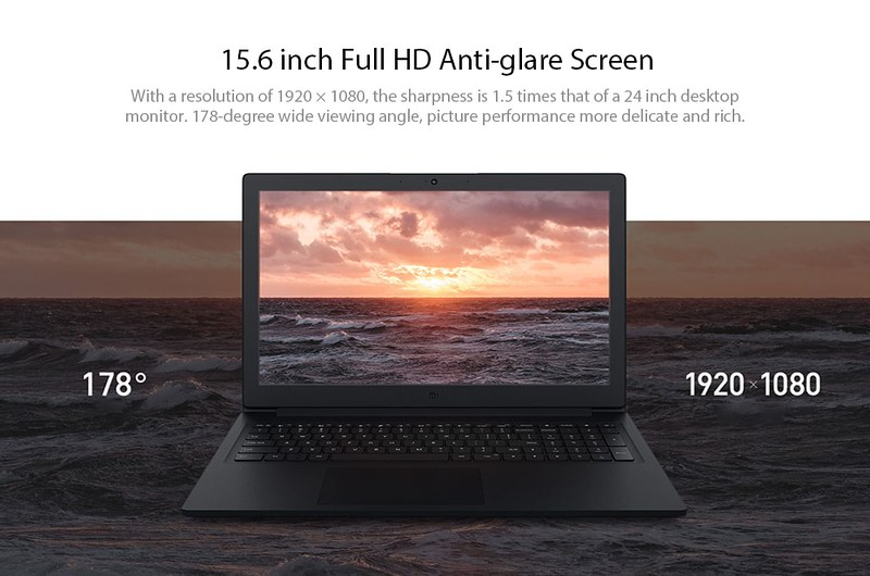 2018 Xiaomi Mi Notebook レビュー (6)