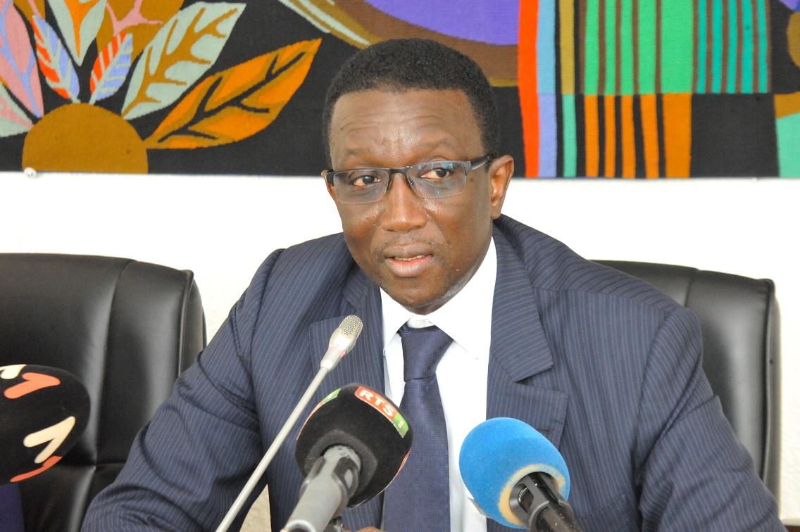 Amadou Ba lors de la Signature des Accords de prêt portant sur le financement des projets du PSE avec la BAD (10)