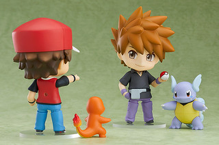 """I am the most powerful Trainer in the world!"" -Pokémon Red and Green- Nendoroid Green"