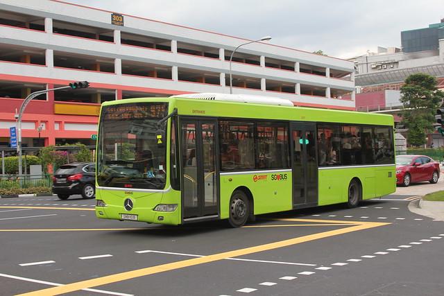 Mercedes-Benz OC500LE / Thonburi Bus Body