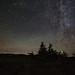 Night Sky & Meteor in Cape Breton by Ken Krach Photography