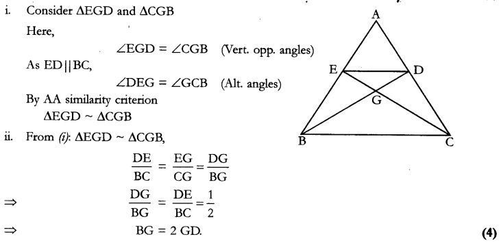 CBSE Sample Papers for Class 10 Maths Paper 9 40