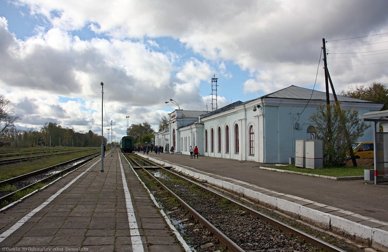 Станция Осташков