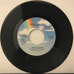 BOBBY BROWN:EVERY LITLLE STEP(RECORD SIDE-A)