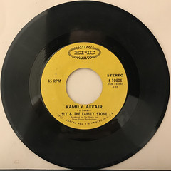 SLY & THE FA,ILY STONE:FAMILY AFFAIR(RECORD SIDE-A)
