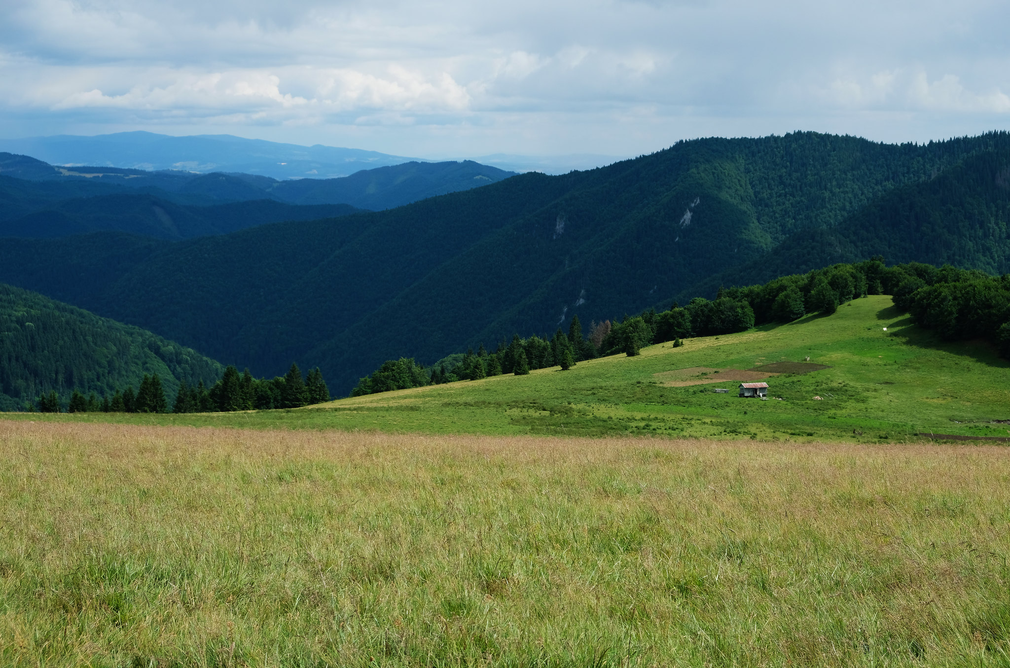 Hiking to Ploská peak, Great Fatra, Slovakia