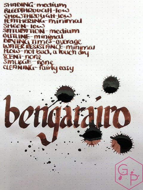 Kyo-no-oto Bengarairo Ink Review 14