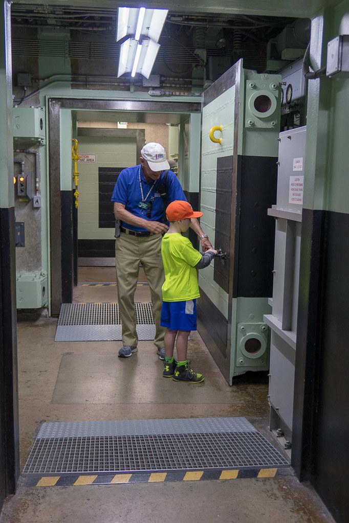 Blast doors at Titan Missile Museum