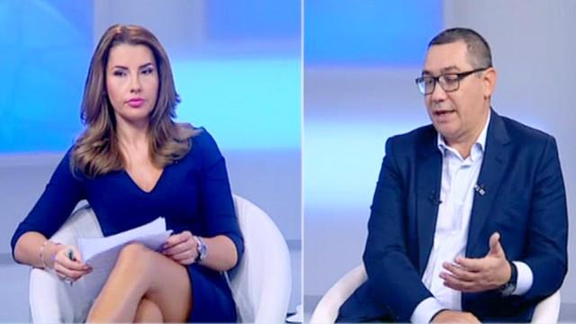 VICTOR PONTA, invitat special, 21 octombrie 2018 Violeta Romanescu