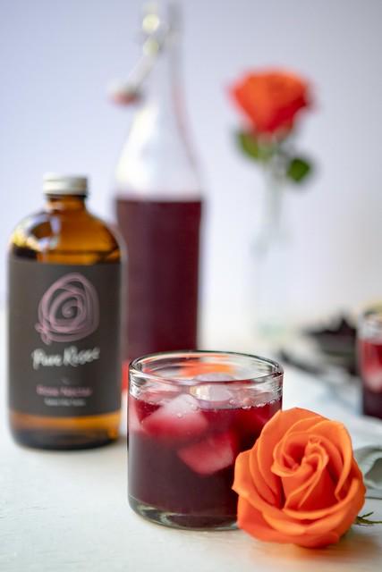 hibiscus rose lemonade