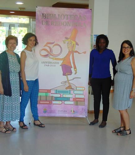 Visita á Biblioteca da técnica da Asociación de Municipios Mozambicanos