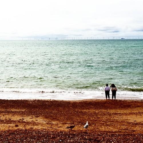 Brighton: passeggiata in spiaggia