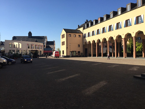 10 - Kronberg - Markthalle Säulengang