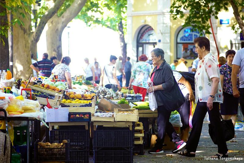 Рынок в Требине