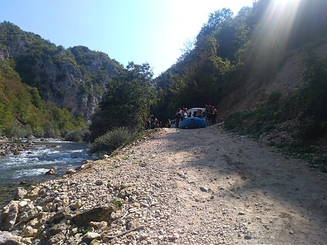 Neretva river rafting trip
