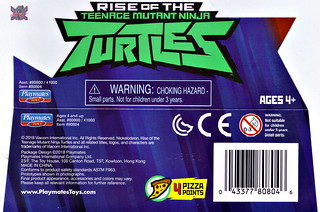 Nickelodeon  RISE of The TEENAGE MUTANT NINJA TURTLES :: MEAT SWEATS ..card insert (( 2018 )) [[ Standard U.S. release ]]