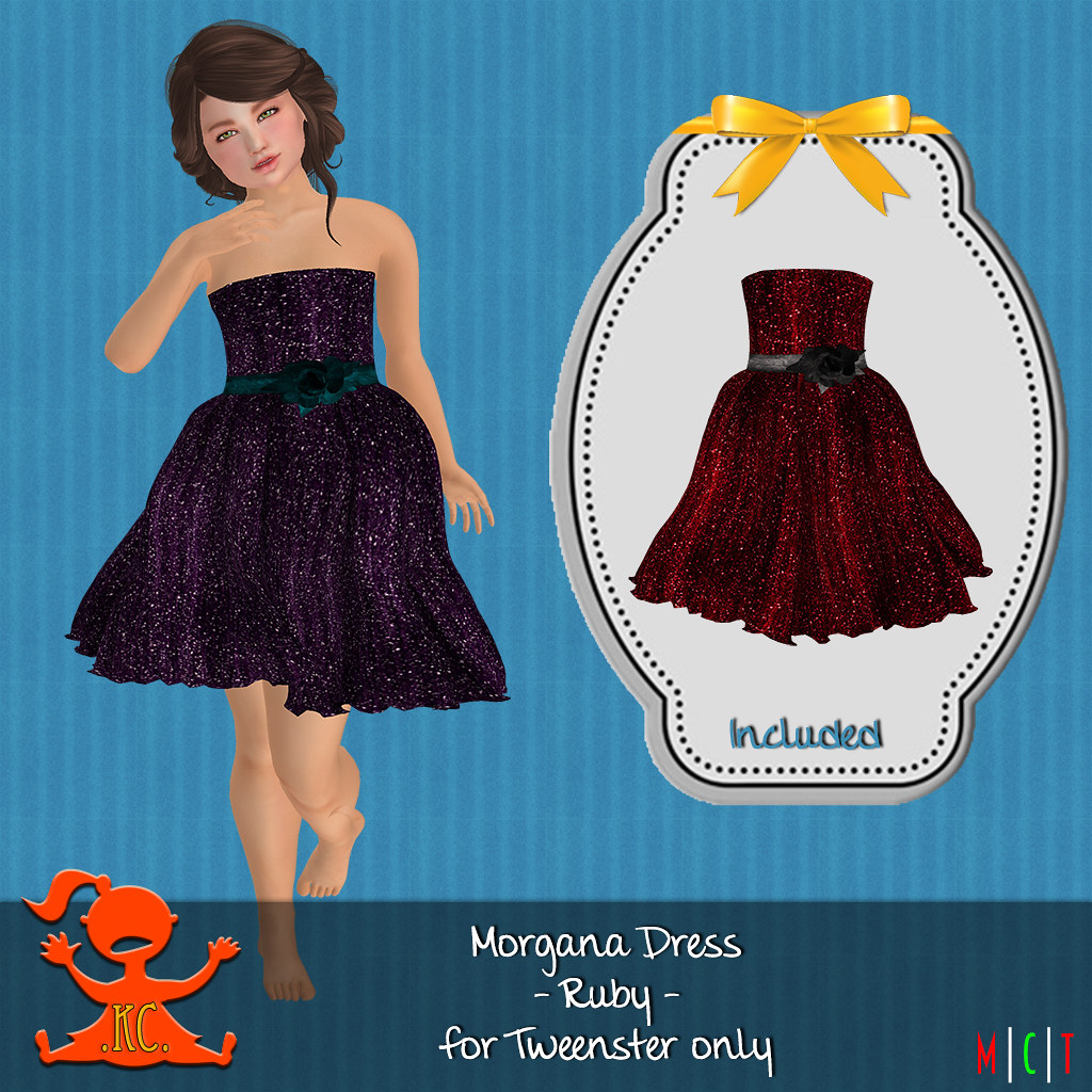 KC Morgana Dress Ruby - TeleportHub.com Live!