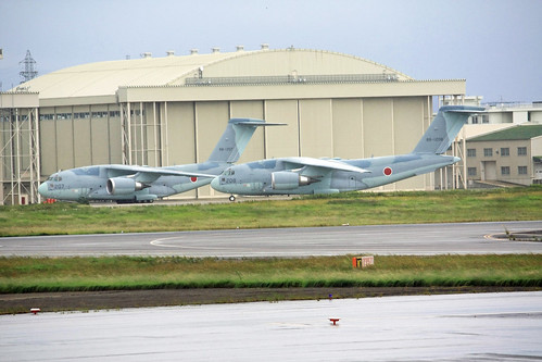 C-2 航空自衛隊第403飛行隊 88-1207 88-1208 IMG_7994_2