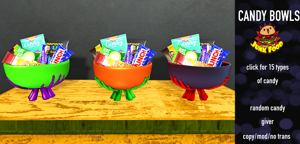 Junk Food - Candy Bowls Flickr - TeleportHub.com Live!
