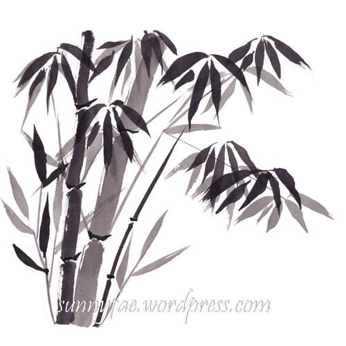 inktober 2018 bamboo