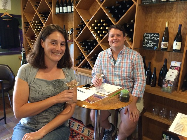 Wine Tasting at Fiddlehead Cellars, Wine Ghetto, Lompoc, CA